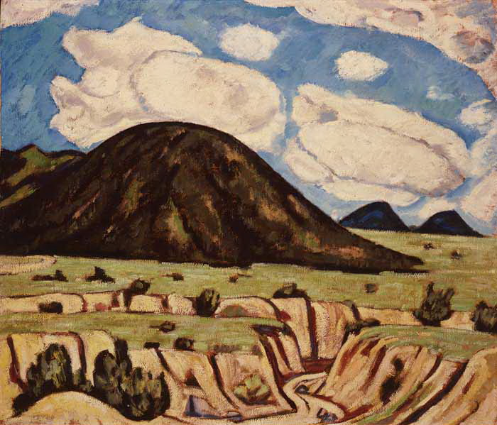Landscape, New Mexico, 1920 - Marsden Hartley