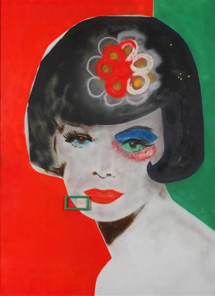 Last Year in Capri (exotic title), 1962 - Martial Raysse