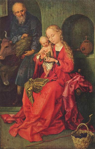 The Holy Family - Martin Schongauer
