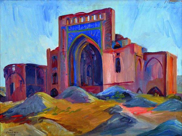 Landscape. Turkmenistan., 1934 - Martiros Sarian