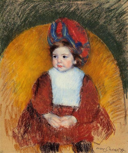 Margot, 1902 - Mary Cassatt