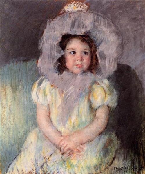Margot in White, 1902 - Mary Cassatt