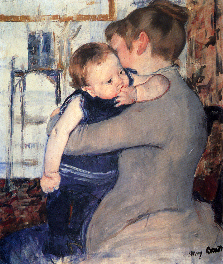Mother And Child, 1889 - Mary Cassatt - WikiArt.org