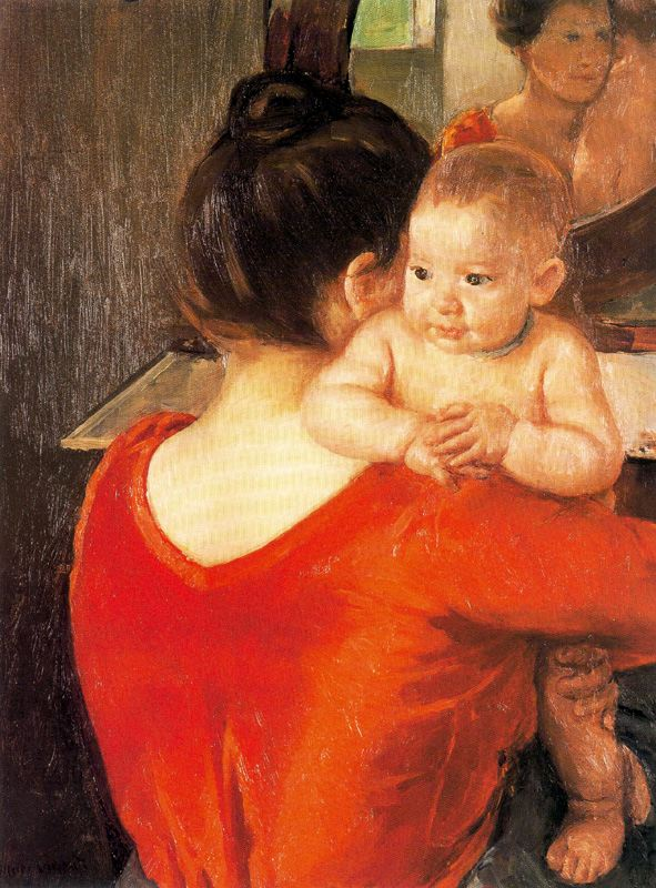 Mother and Child, 1900 - Mary Cassatt - WikiArt.org