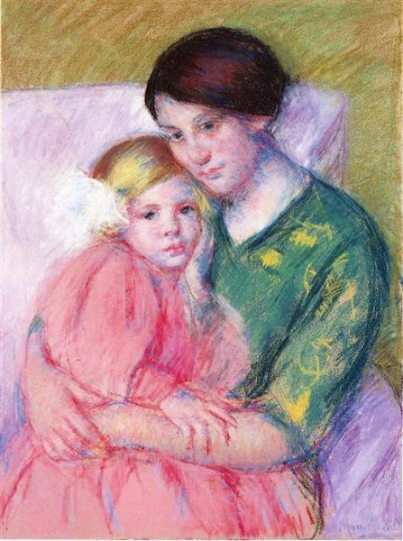 Mother and Child Reading, 1913 - Mary Cassatt