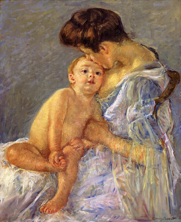Motherhood - Mary Cassatt - WikiArt.org - encyclopedia of ...