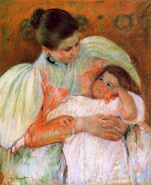 Nurse and Child, 1896 - 1897 - Mary Cassatt