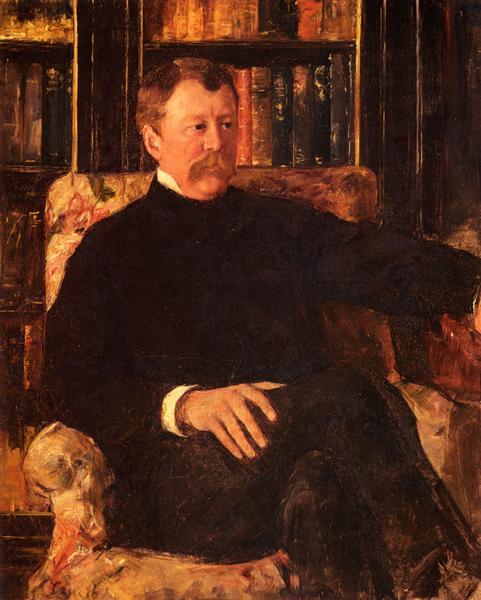 Portrait Of Alexander Cassatt, c.1880 - Mary Cassatt