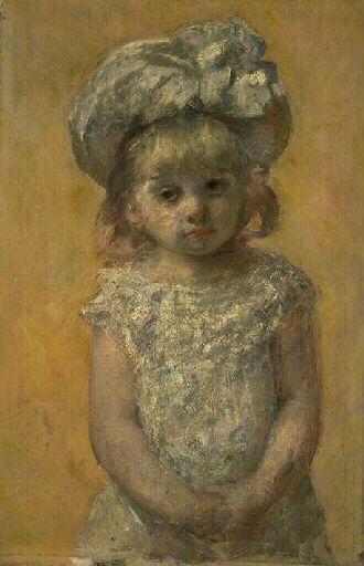 Portraitofgirl, 1879 - Mary Cassatt