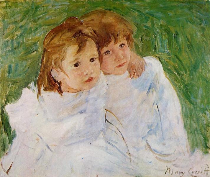 The Sisters, c.1885 - Mary Cassatt