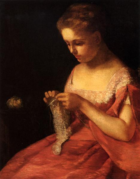 The Young Bride, 1875 - Mary Cassatt