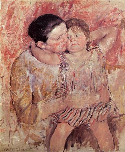 Woman and Child, c.1887 - 1888 - Mary Cassatt
