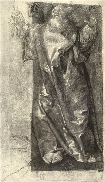 Moses, c.1511 - Matthias Grünewald