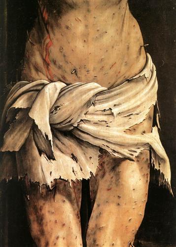 A Crucificação 3 (detalhe) - Matthias Grünewald