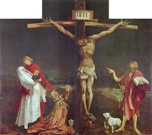 Matthias Grünewald: Isenheimer Altar, Kreuzigung