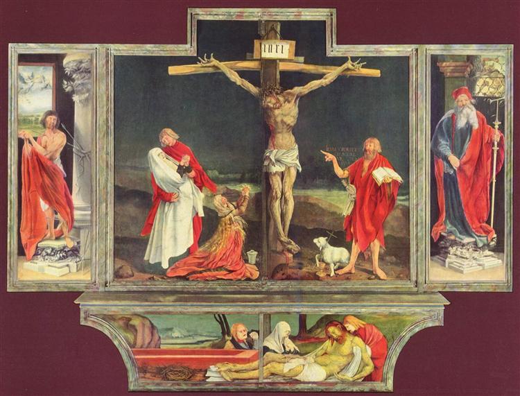 The Isenheim Altarpiece, c.1512 - c.1516 - Matthias Grünewald