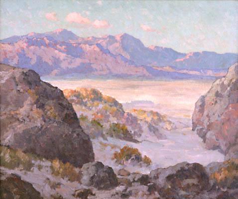 Desert and Mountains - Maurice Braun