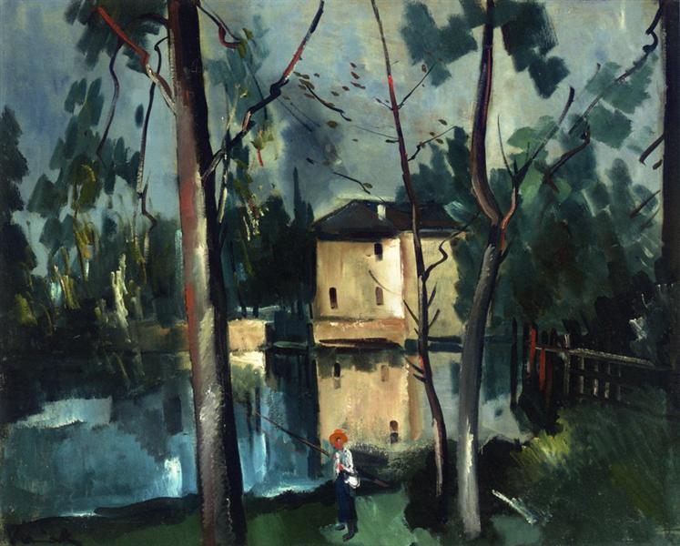 Landscape of La Creuse, c.1910 - Maurice de Vlaminck