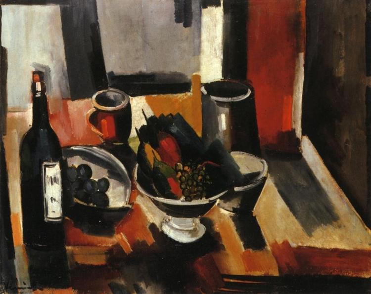 Still Life with Basket of Fruit, 1918 - Maurice de Vlaminck