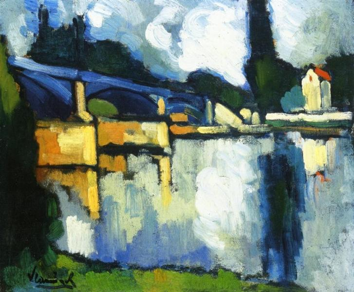 The Bridge at Chatou, c.1907 - Maurice de Vlaminck
