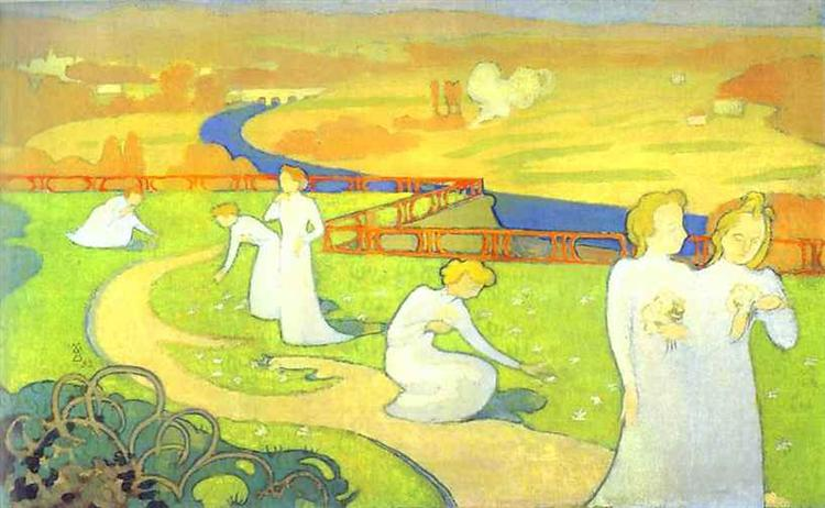 April - Maurice Denis