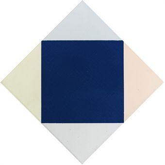 Blauer kern, 1969 - Max Bill