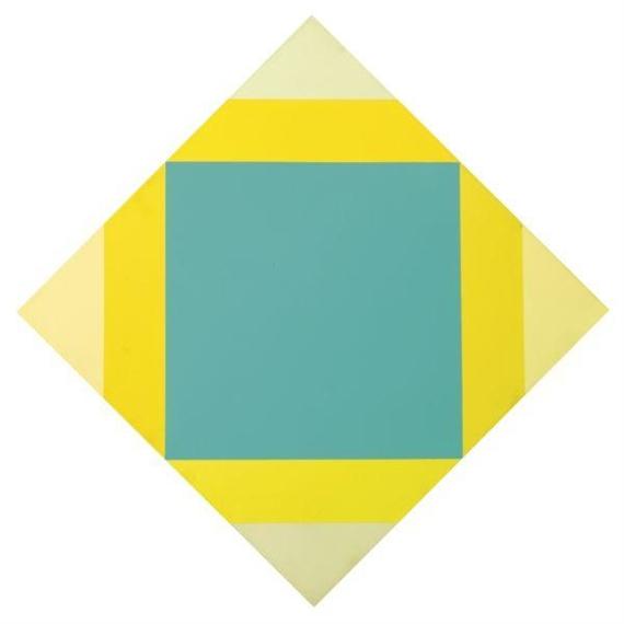 Verdichtung aus Gelb, 1972 - Max Bill