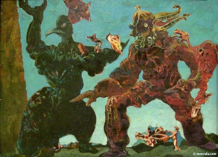 Barbarians, 1937 - Max Ernst