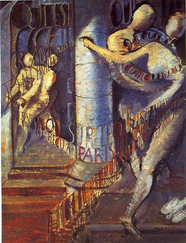La grand malade - Max Ernst