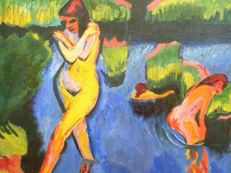 Bank of a Lake, 1910 - Max Pechstein