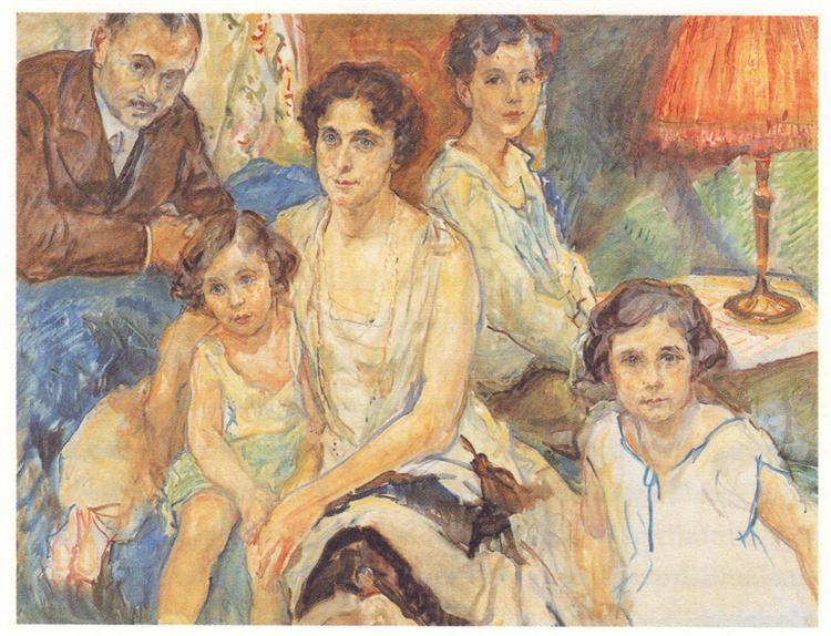 The Family Doctor János Plesch, 1928 - Max Slevogt