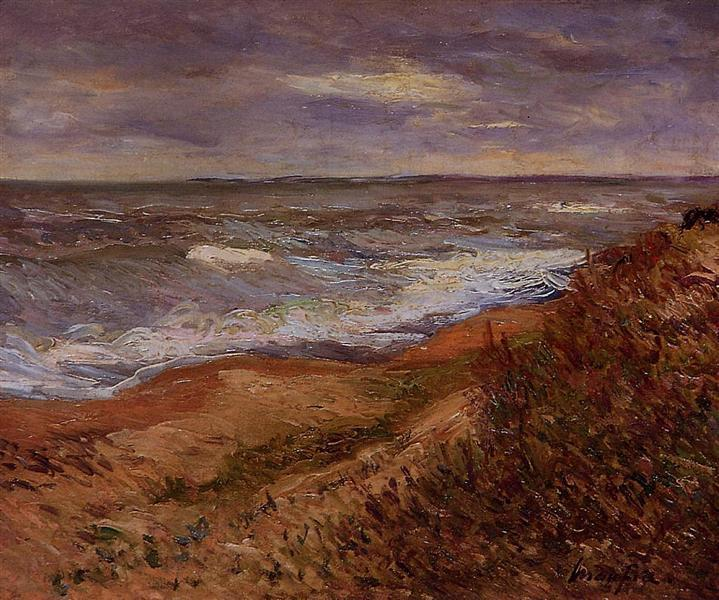 By the Sea - Maxime Maufra