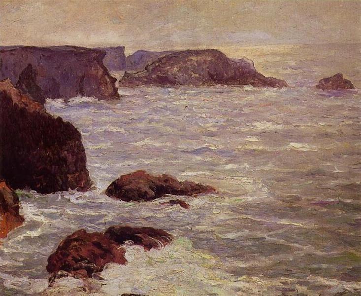 Coast Goulphar, 1905 - Maxime Maufra