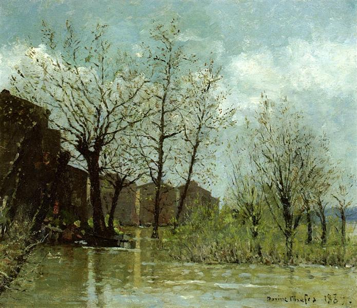 Flood, 1889 - Maxime Maufra