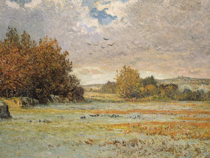 Frost at Morgat, 1901 - Maxime Maufra