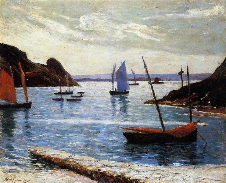 Isle of Brehat, 1892 - Maxime Maufra