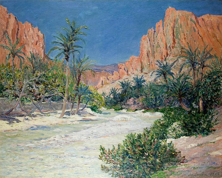 Morning in the Oasis of Alkantra, 1913 - Maxime Maufra