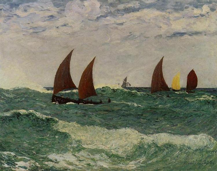 Passing through the Bar, 1898 - Maxime Maufra