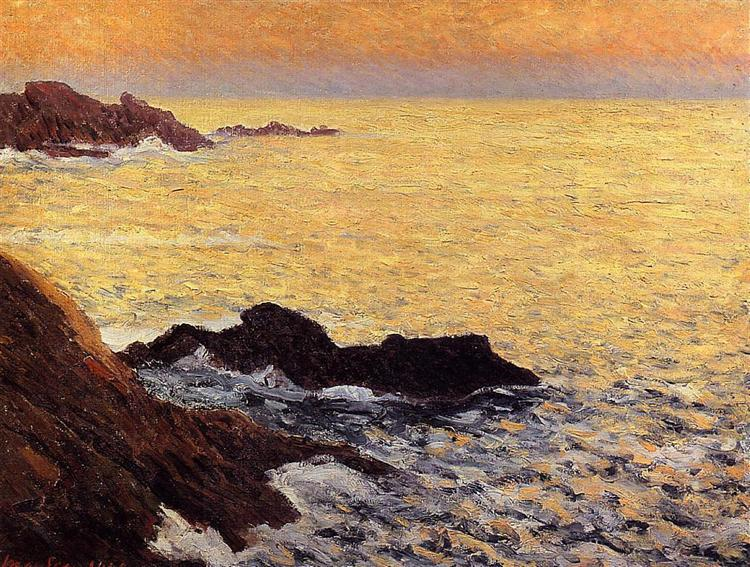 The Golden Sea - Quiberon, 1900 - Maxime Maufra