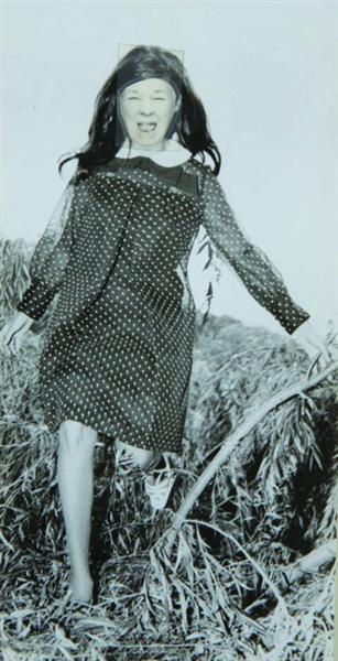 Ridiculous Portrait (Polka Dot Dress), 1972 - May Wilson