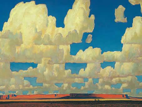 Cloud World - Maynard Dixon