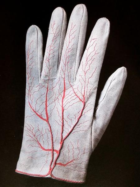 Pair of Gloves (detail), 1985 - Мерет Оппенгейм