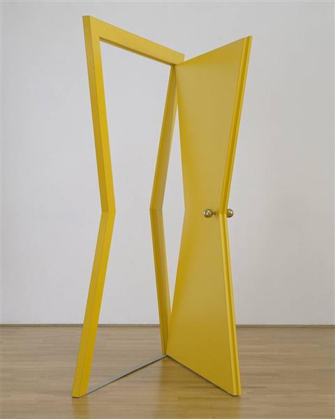 Door, 1976 - Michelangelo Pistoletto