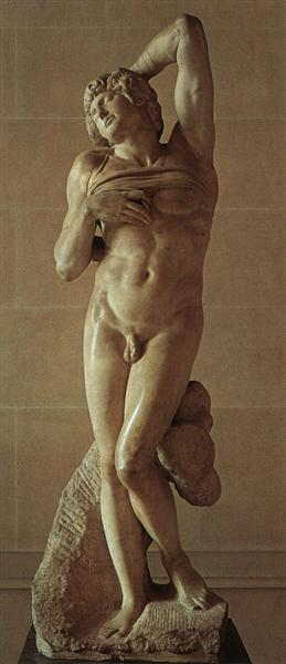 The Dying Slave - Michelangelo