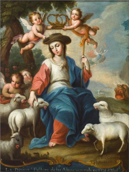 The Divine Shepherdess, 1760 - Miguel Cabrera