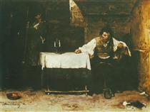 The Last Day of a Condemned Man - Mihály Munkácsy