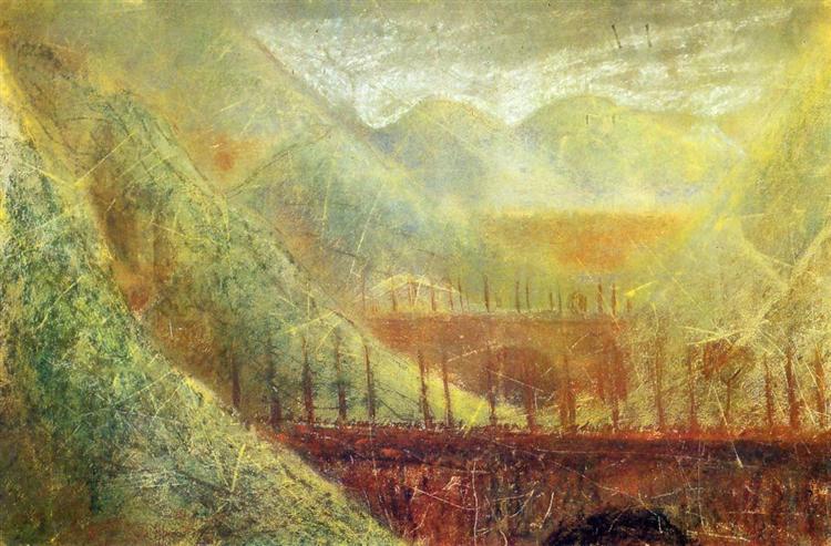 Мости, 1905 - Мікалоюс Чюрльоніс