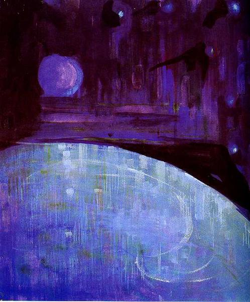 Creation of the World III, 1906 - Mikalojus Konstantinas Ciurlionis