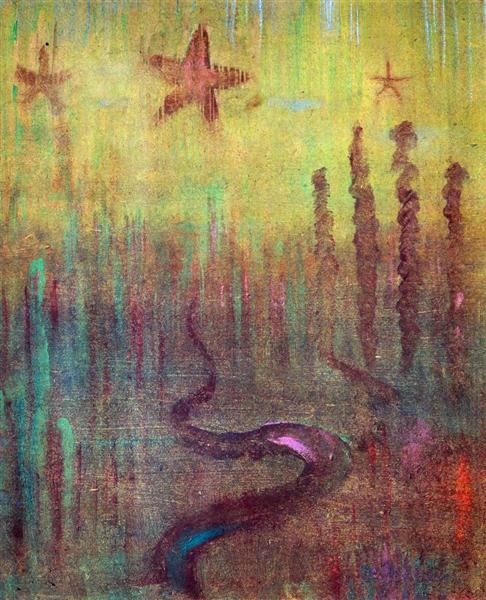 Creation of the World XII, 1906 - Mikalojus Konstantinas Ciurlionis