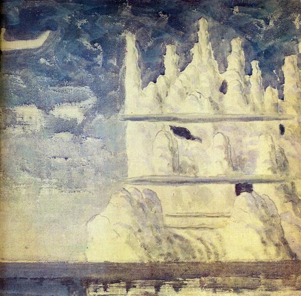 Journey of the Prince (III) - Mikalojus Konstantinas Ciurlionis
